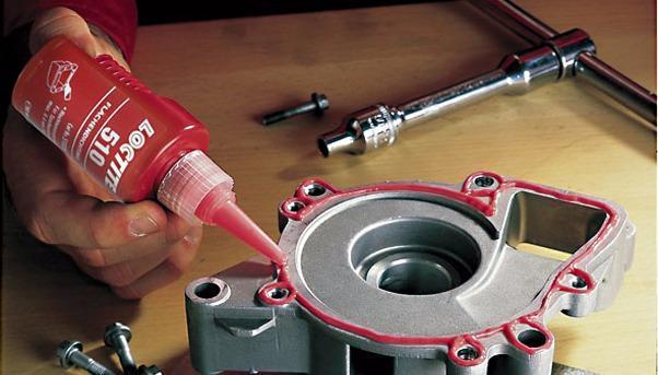 Уплотнитель для жестких фланцев Loctite 510 высокотемпературный
