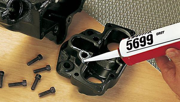 Силиконовый нейтральный герметик Loctite 5699