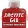 Вал-втулочный фиксатор Loctite (Локтайт) 648 высокотемпературный