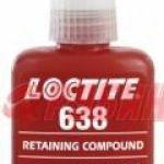 Вал-втулочный фиксатор Loctite (Локтайт) 638 быстроотверждаемый