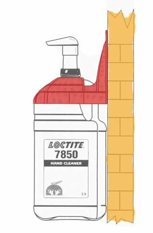 Крепеж настенный для очистителя Loctite 7850, 3л